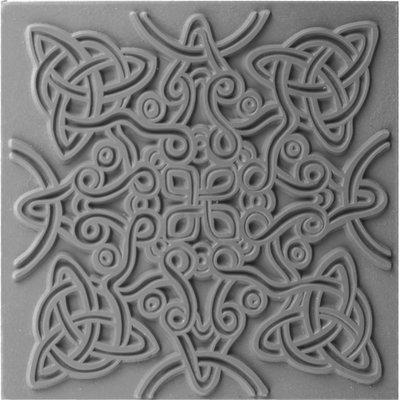 Cernit Texture Mat Celtic knot