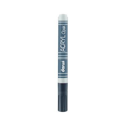 Acryl Opak Marker 3mm Silver