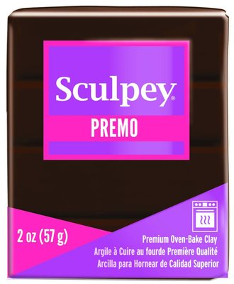 Sculpey Premo -- Burnt Umber
