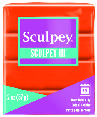 Sculpey III -- Just Orange