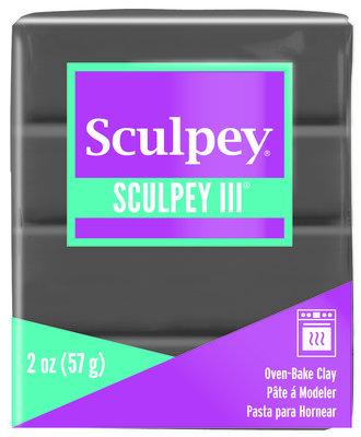 Sculpey III -- Elephant Gray