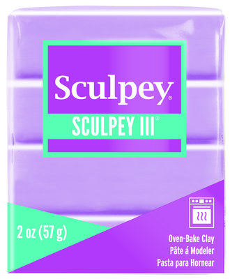Sculpey III -- Spring Lilac