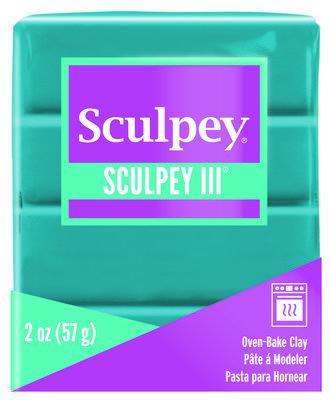 Sculpey III -- Teal