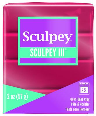 Sculpey III -- Deep Red Pearl