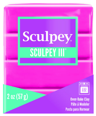 Sculpey III -- Candy Pink