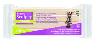 Super Sculpey Living Doll -- Light, 1 lb (454 g)