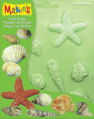 Pushmold Sea Shells