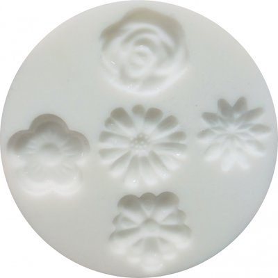 Silicone mould flowers