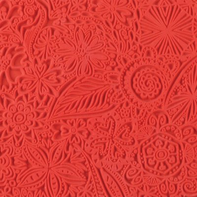 Cernit Texture Mat Flowers