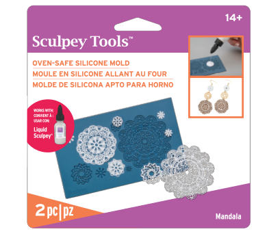Sculpey Silicone Oven Safe Mold – Mandala