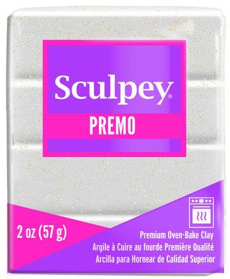 Sculpey Premo -- White Gold Glitter