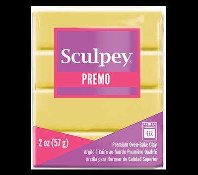 Sculpey Premo -- Fluorecent Yellow