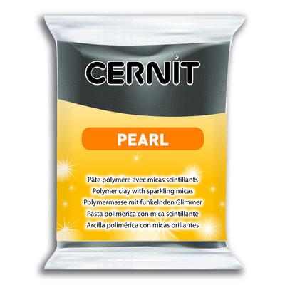 Cernit Pearl, 56gr - Black 100