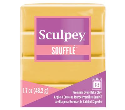 Sculpey Soufflé -- Yellow Ochre