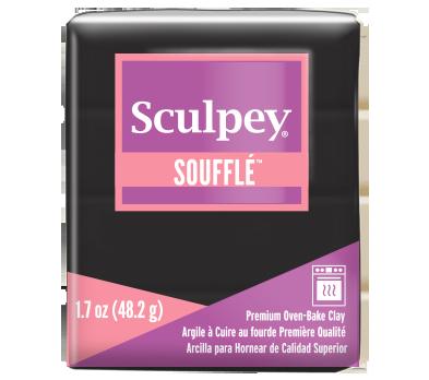 Sculpey Soufflé -- Poppy Seed