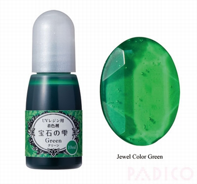 Jewel Color Green