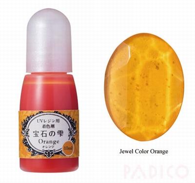 Jewel Color Orange