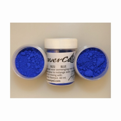 Pavercolor   40 ml. Blauw