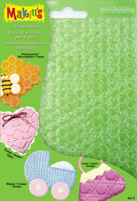Texture Sheets Set C [Honeycomb, Weave, Eyelet, Lace)