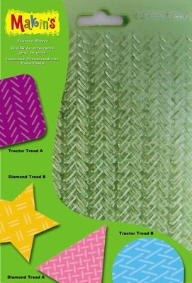 Texture Sheets Set G [Tractor Treads A & B, Diamond, Treads A & B)