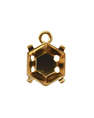 Setting for Jewel Mold Mini Hexagon C