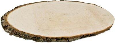 Rindenscheibe oval 21-26 cm