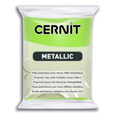 Cernit Metallic, 56gr - Green 051