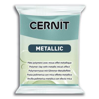 Cernit Metallic, 56gr - Steel 167