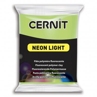 Cernit Neon Light, 56gr - Green 600